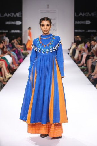 Model in Purvi Doshi's collection