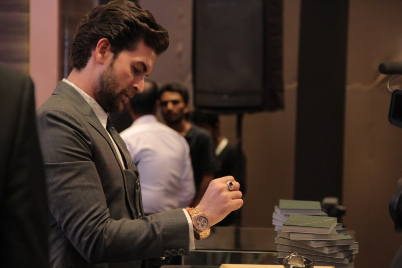 Neil Nitin Mukesh at the day 1 of Time Avenue Haute Horlogerie exhibition (2)
