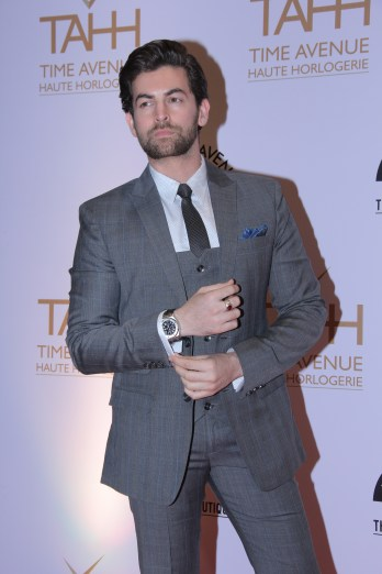 Neil Nitin Mukesh at the day 1 of Time Avenue Haute Horlogerie exhibition