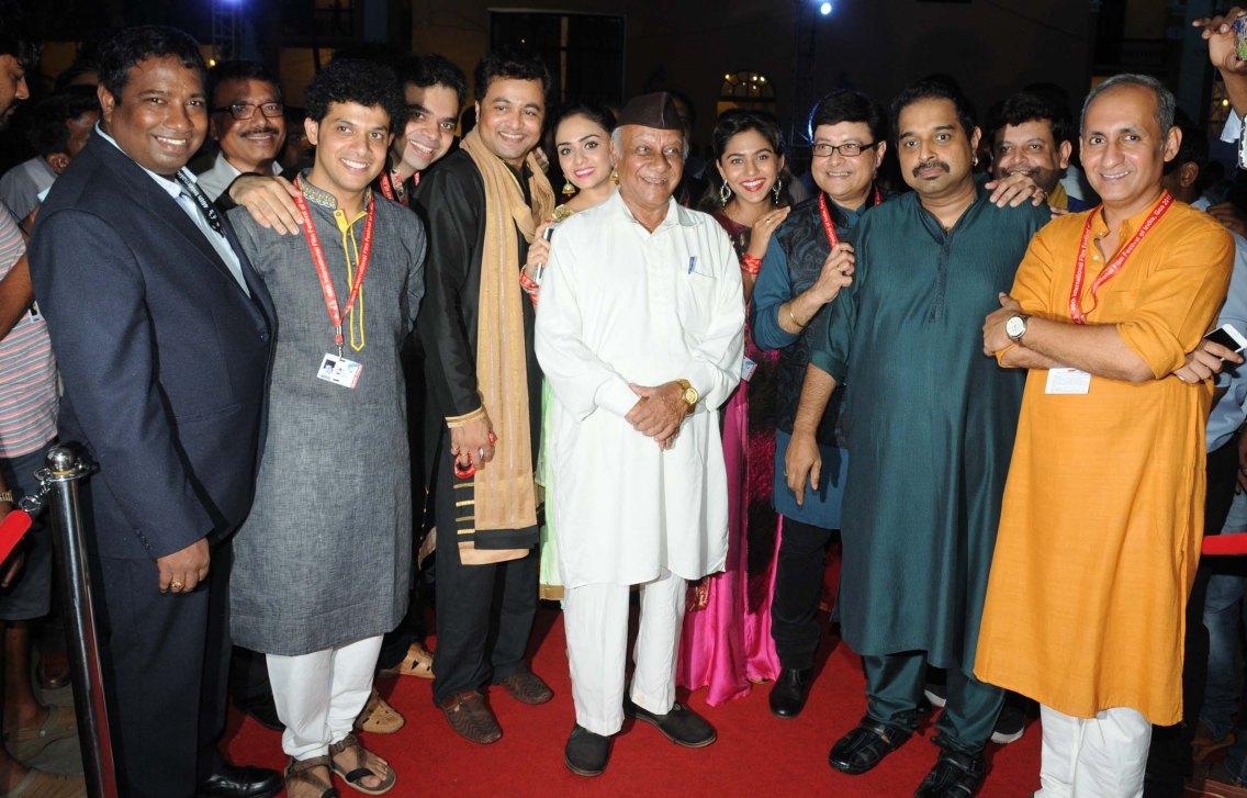 sri.Sankar Mahadevan Redcarpet reception