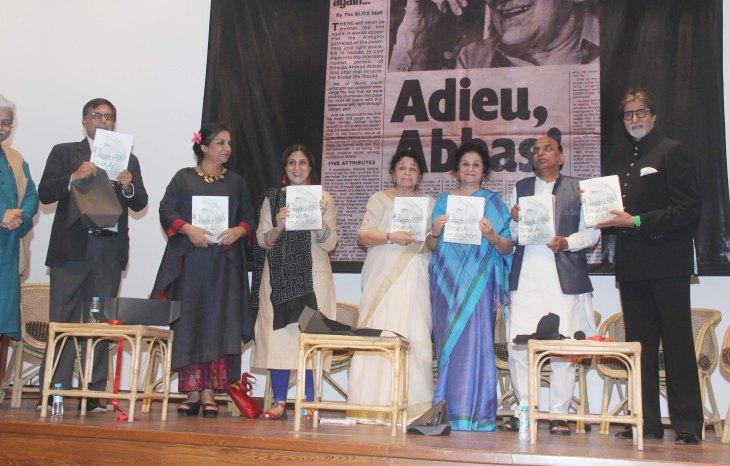 Dr Ahmed Zaheer, Shabana Azmi, Iffat Fatima, Zakia Zaheer, Syeda, Hameed, Shri Tripathi, Amitabh Bachchan