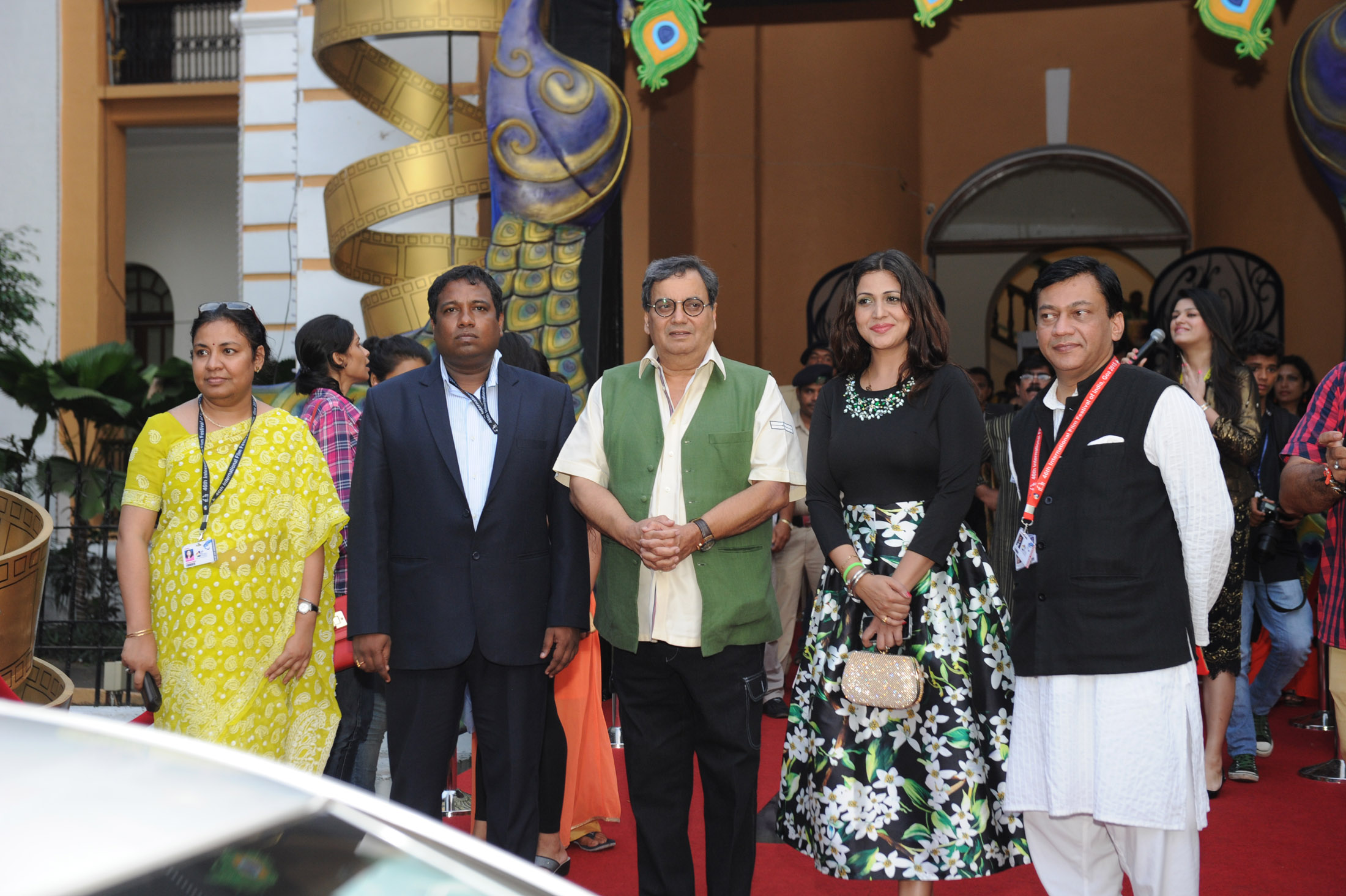 Subhash Ghai at IFFI 2015 Red Carpet