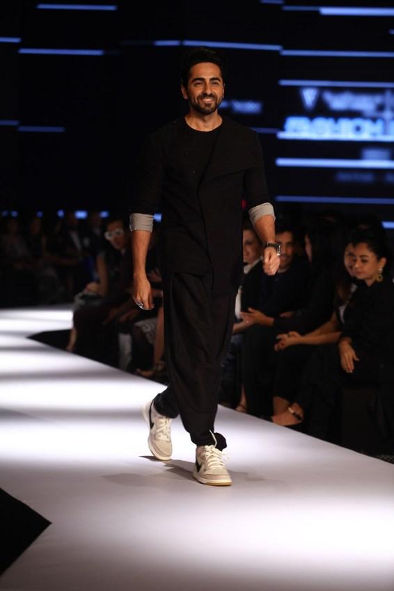 Ayushmann Khurrana in Ujjawal Dubey at Day 2 of Van Heusen + GQ Fashion Nights