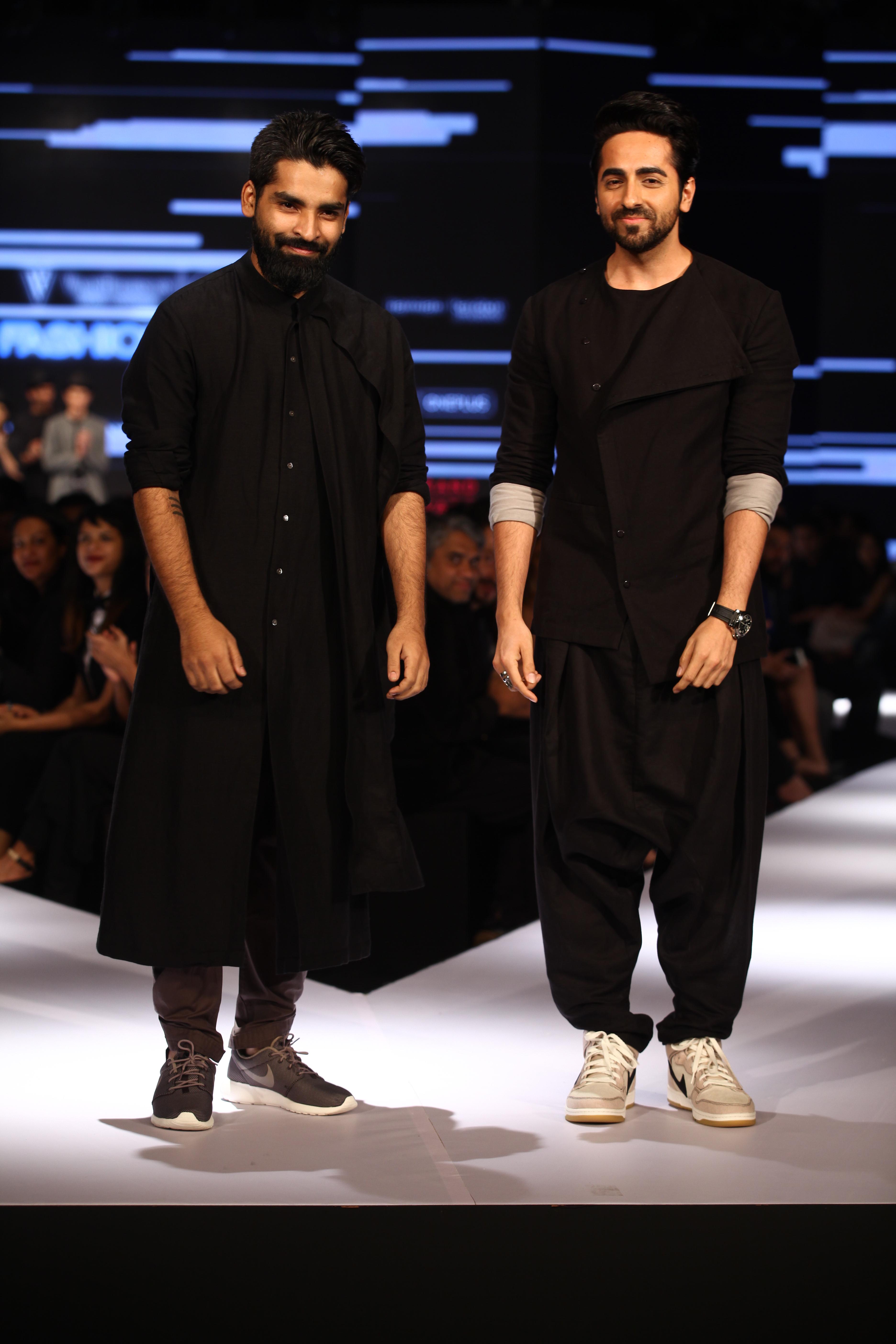 Ayushmann Khurrana with Ujjawal Dubey