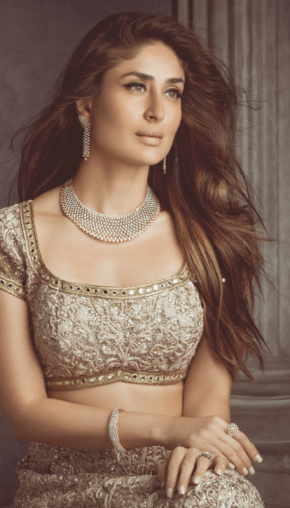 Kareena Kapoor in Rimple and Harpreet Narula for the Malabar Gold and Diamonds Advertisement