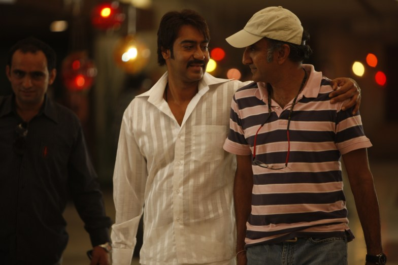 Ajay Devgn and Milan Luthria