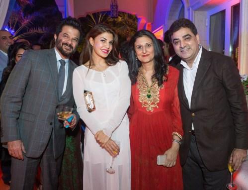 Anil Kapoor, Jacqueline Fernandez, Deepna Sethi & Ajay Sethi