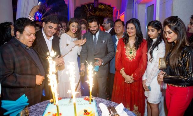 Rajeev Shukla,Ajay Sethi,Jacqueline Fernandez, Anil Kapoor, Deepna Sethi, Karishma Sethi, Lucky Morani
