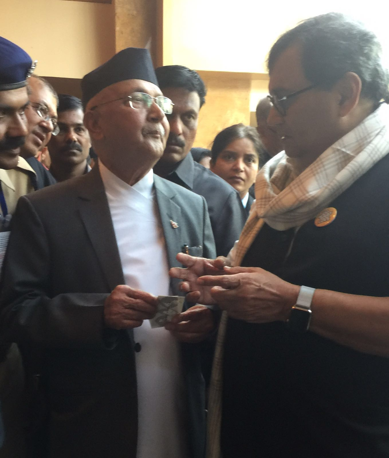 Subhash Ghai meets Nepal Prime Minister