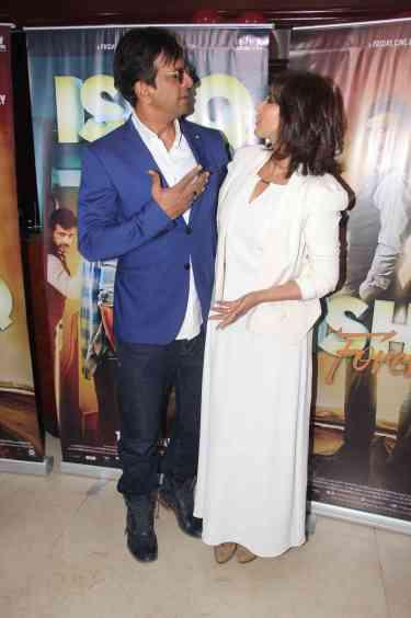 Jaaved Jafferi and Lisa Ray (2)