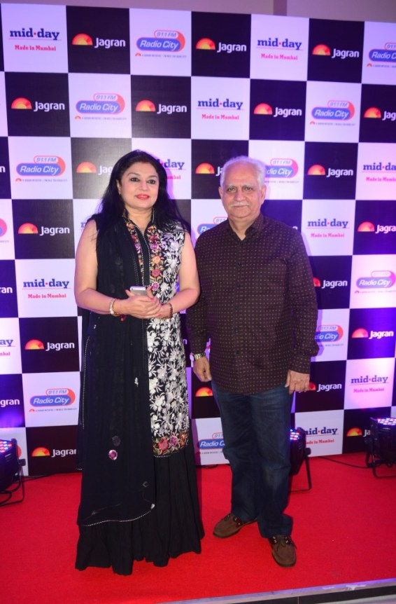 Kiran Juneja and Ramesh Sippy at party hosted by Jagran publication