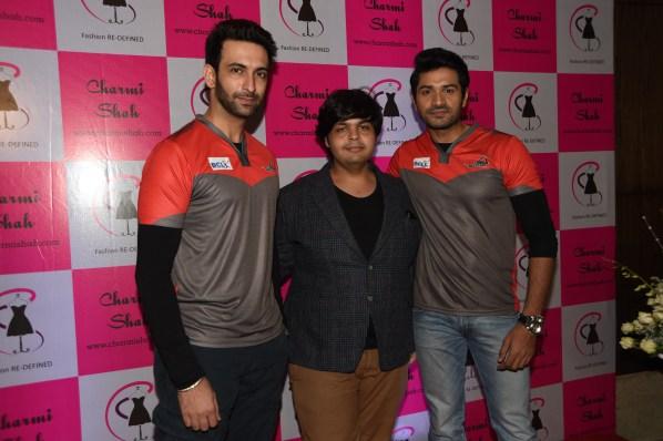 Left to Right - Nandish Sandhu, Amit Khanna, Mrunal