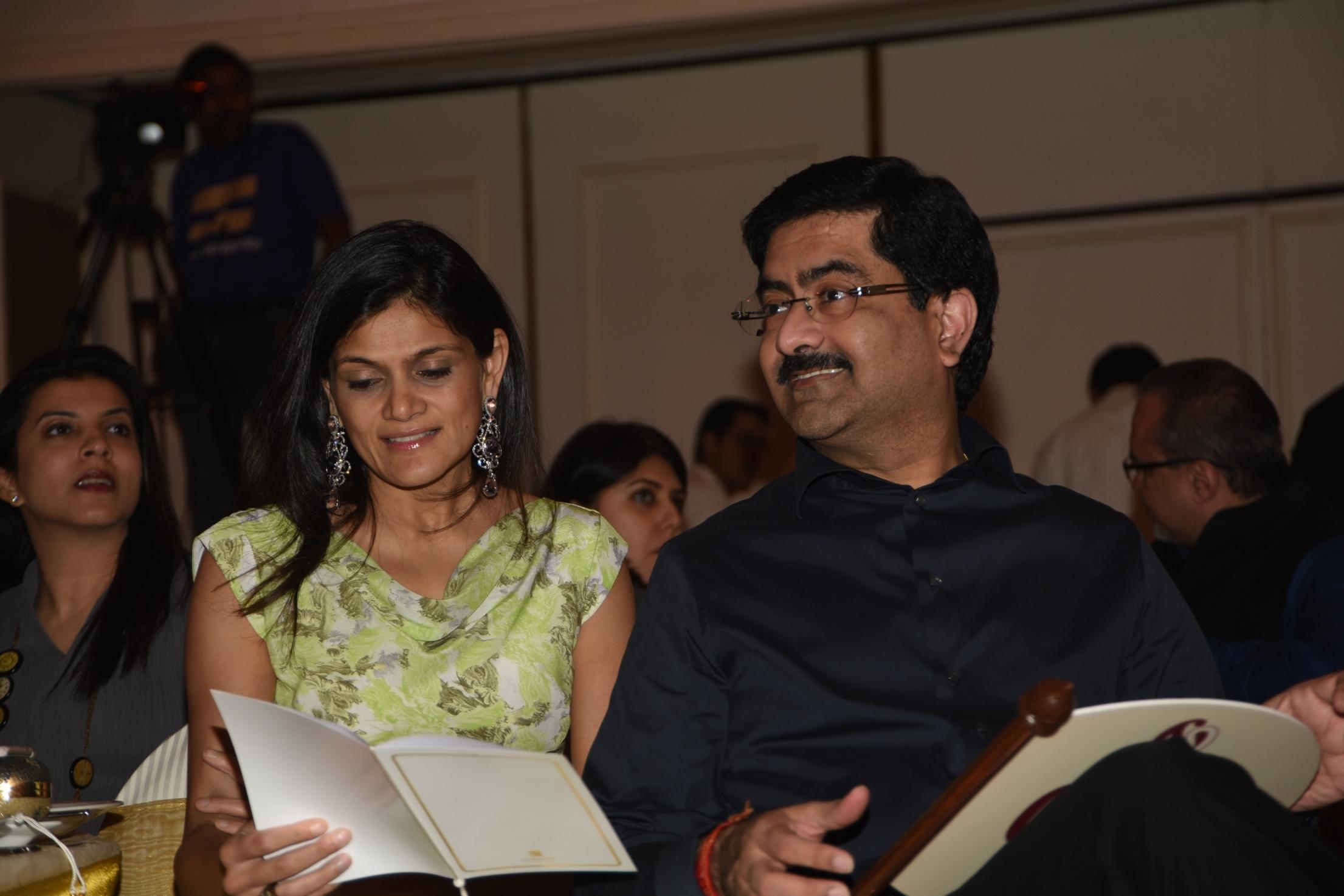 Neerja and Kumarmangalam Birla