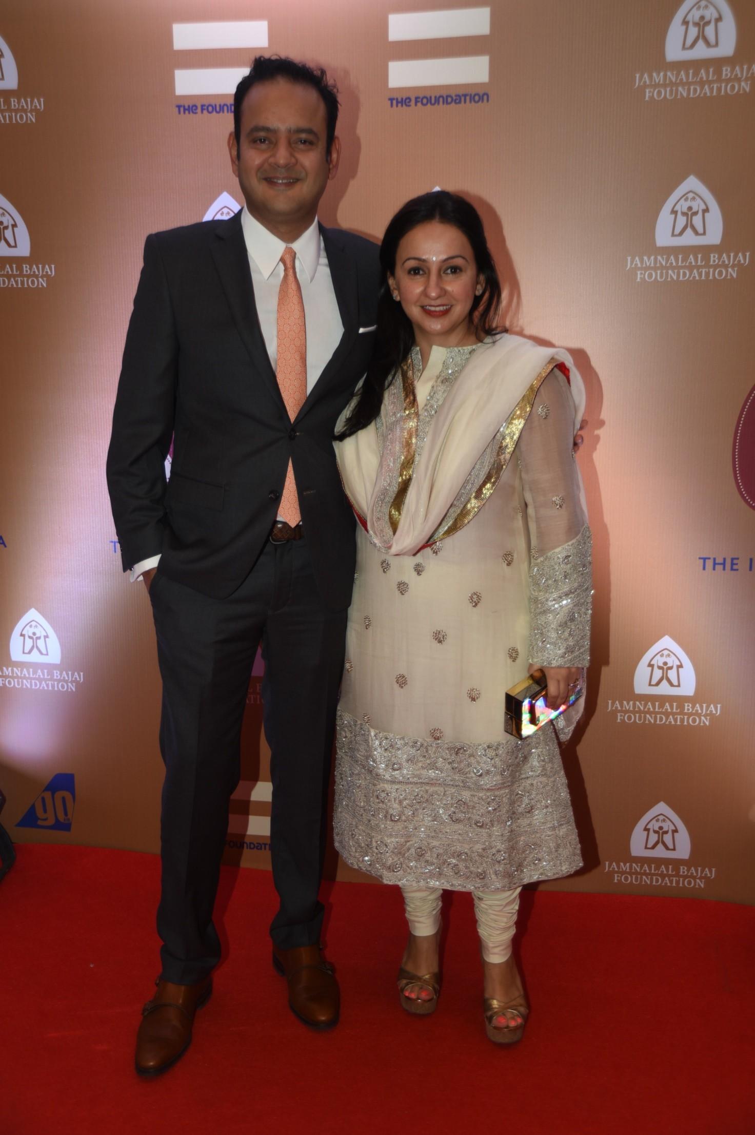 Penny and Sanjeev patel