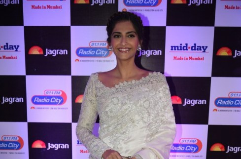 Sonam Kappoor at party hosted by Jagran publication