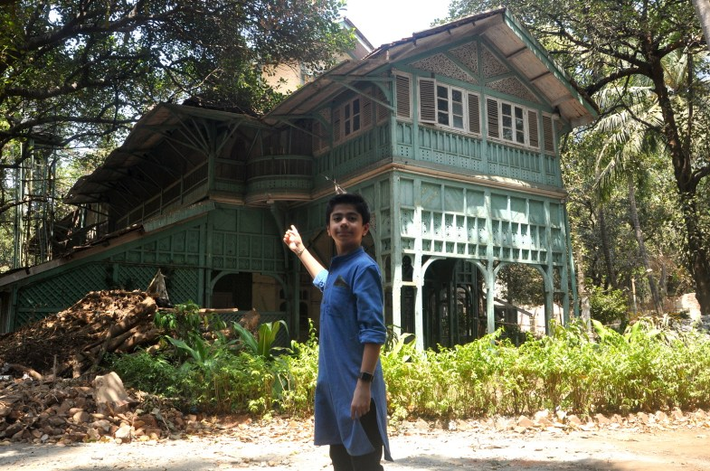 Neel Sethi at the Deans Bungalow (1)