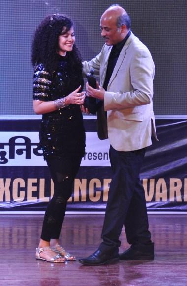 Palak Muchhal With Sooraj Barjatya