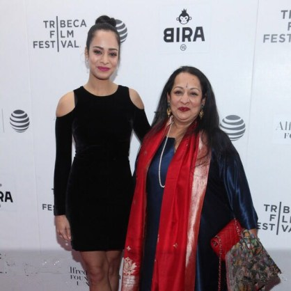 SB and DB at Tribeca red carpet