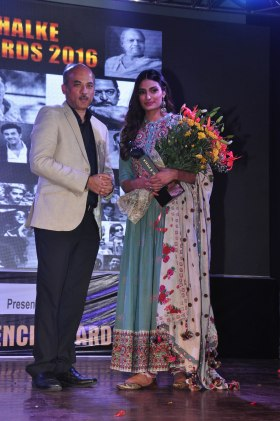 Sooraj Barjatya With Athiya Shetty