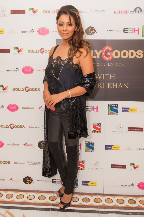 Gauri Khan at BollyGoods Edition 2, London (photographer credit - Shahid Malik)