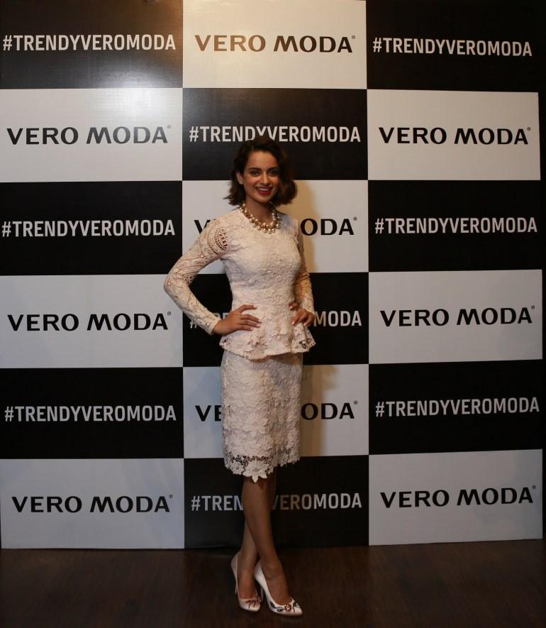 Kangana Ranaut at the launch of VERO MODA store at DLF Mall of India 1
