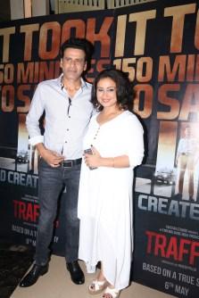 Manoj Bajpayee and Divya Dutta