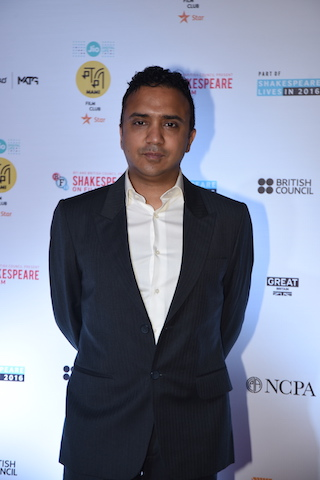Ram Sampat at MAMI film club launch