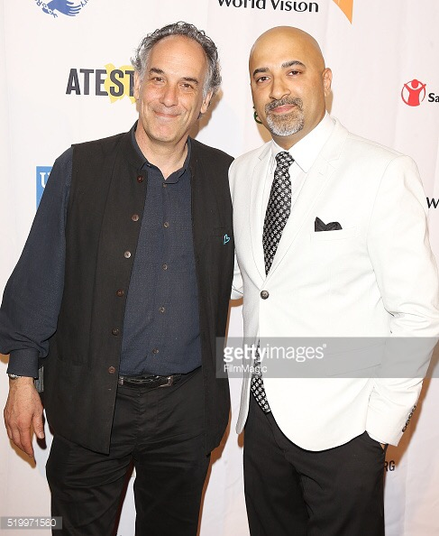 Director Jeffrey D. Brown with Music Supervisor Sammy Chand