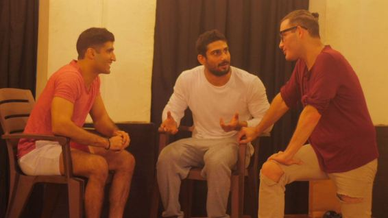 Prateik Babbar rehearsal 1