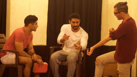 Prateik Babbar rehearsal 4