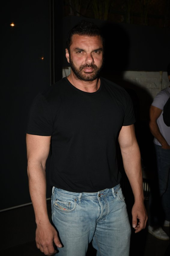 Sohail Khan at the Fever party