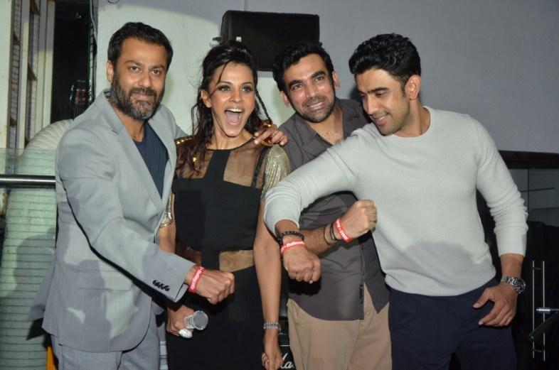 Abhishek Kapoor, Manasi Scott, Zaheer Khan & Amit Sadh