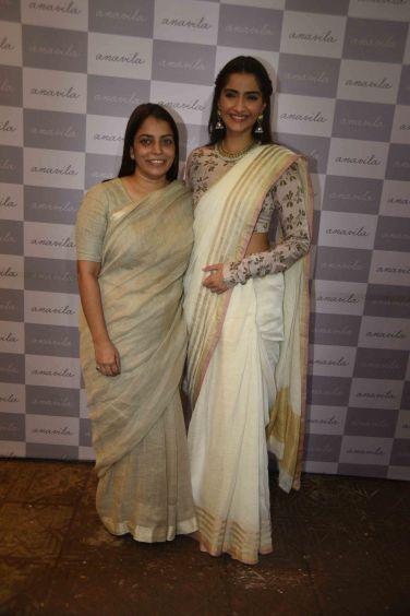 Anavila Misra with Sonam Kapoor