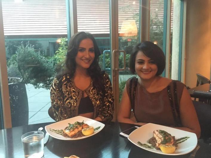 Elli Avram & Shweta Rohira