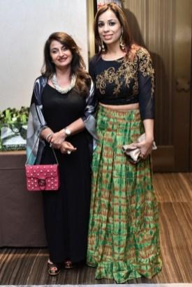 Entrepreneur Madhu Arora with Jyoti Goel