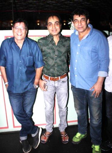 Producer Surendra Bhatia and Narsingh Rajput,Deepak Tijori