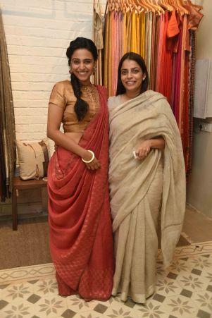 Swara Bhaskar with Anavila Misra