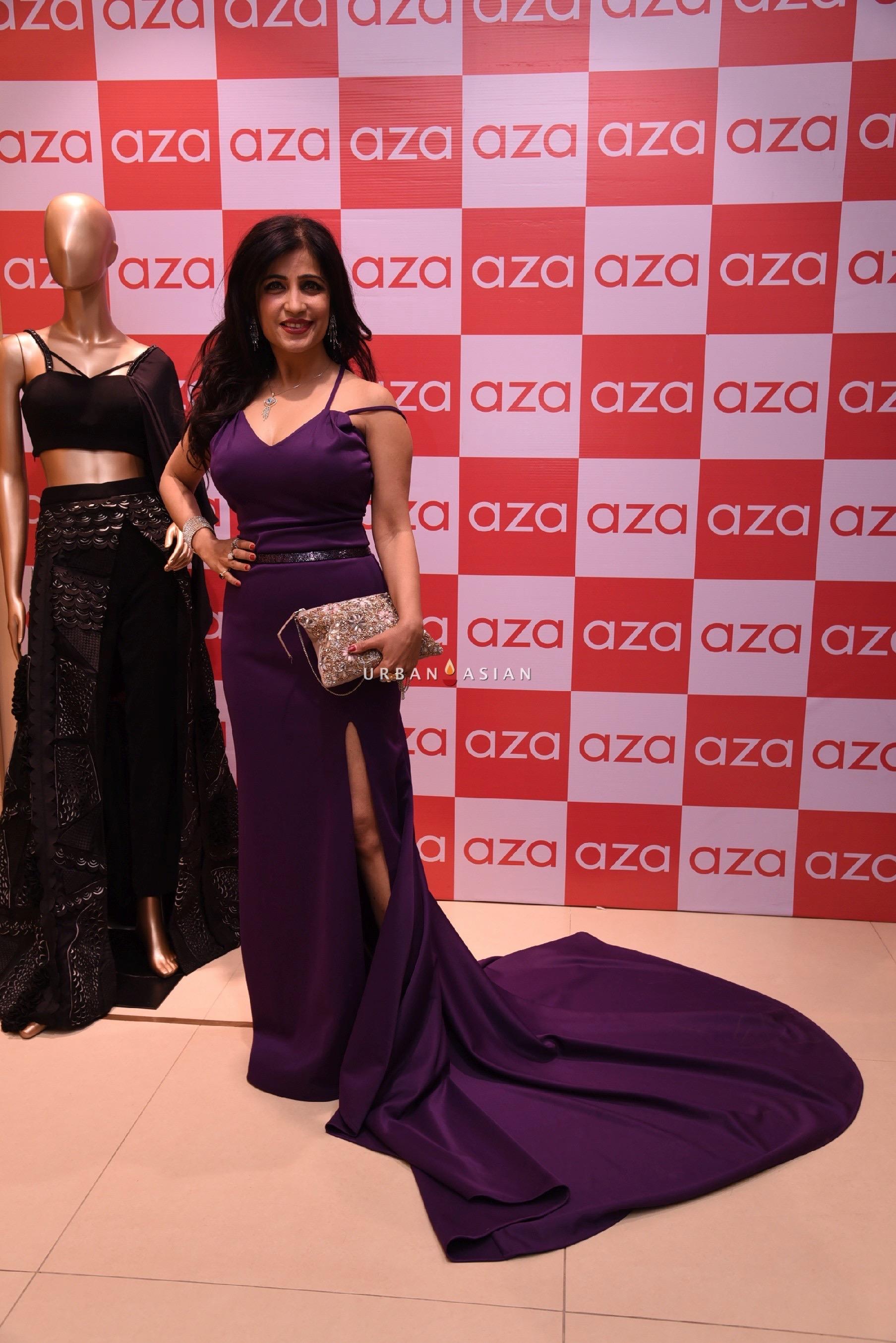 shibani-kashyap-eshaa-amiins-new-party-wear-launch-at-aza