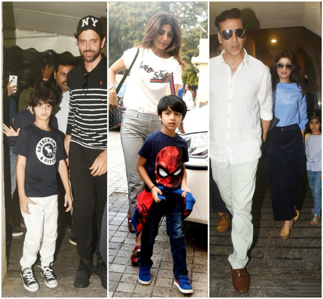 Bollywood celebs at Coco screening