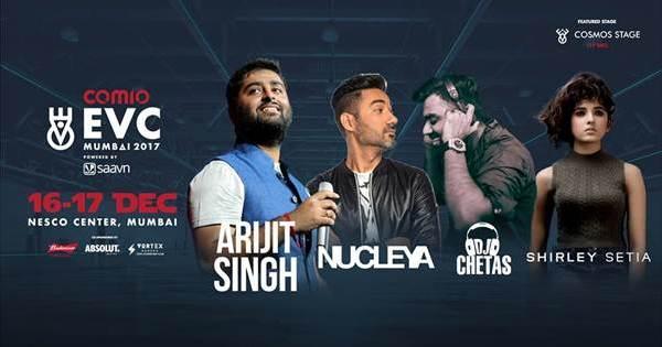 Artists to perform at EVC Mumbai 2017
