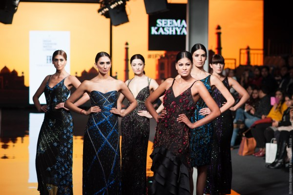 Models in The Front Row Designs by Seema Kashyap