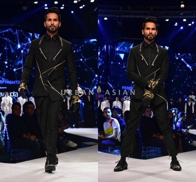 Shahid Kapoor brings the Van Heusen GQF ashion Nights to a spectacular closure