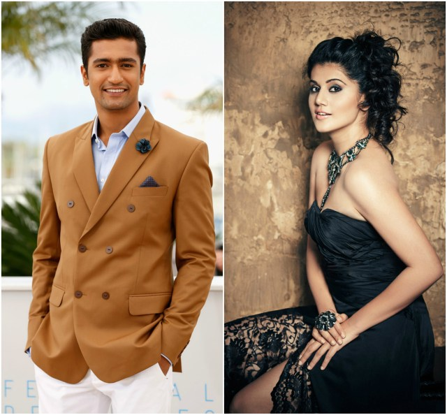Vicky Kaushal joins Taapsee Pannu in Anurag Kashyap's Manmarziyan