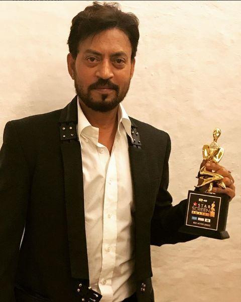 Irrfan Khan Star Screen Awards 2017