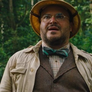 Jack Black in Jumanji: Welcome to the Jungle