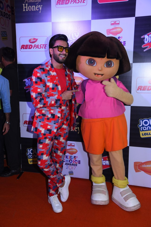 Ranveer Singh at Nickelodeon Kids Choice Awards 2017