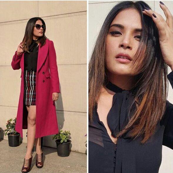 Richa Chadha Shows Her True Fashion