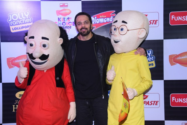 Rohit Shetty at Nickelodeon Kids Choice Awards 2017