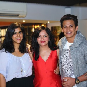 Rytasha Rathore, Dipti Kalwani and Prince Narula