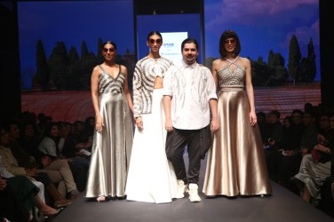 Anand Bhushan showcased his collection on Day one of the Delhi Times Fashion Week
